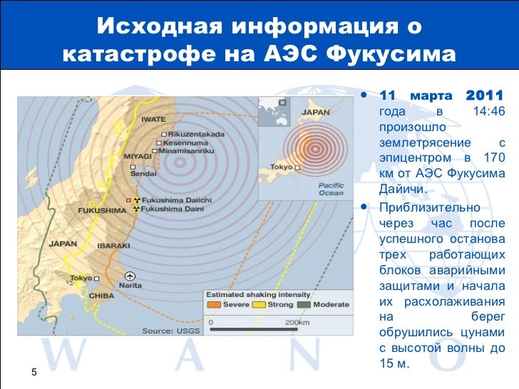 катастрофе на АЭС Фукусима