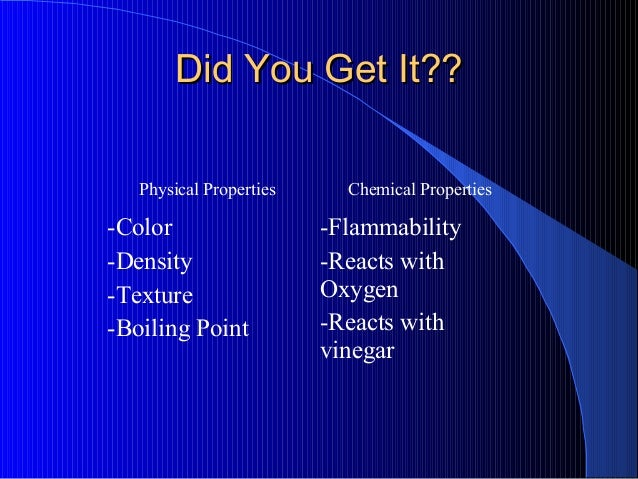 Physical And Chemical Properties Of Oxygen