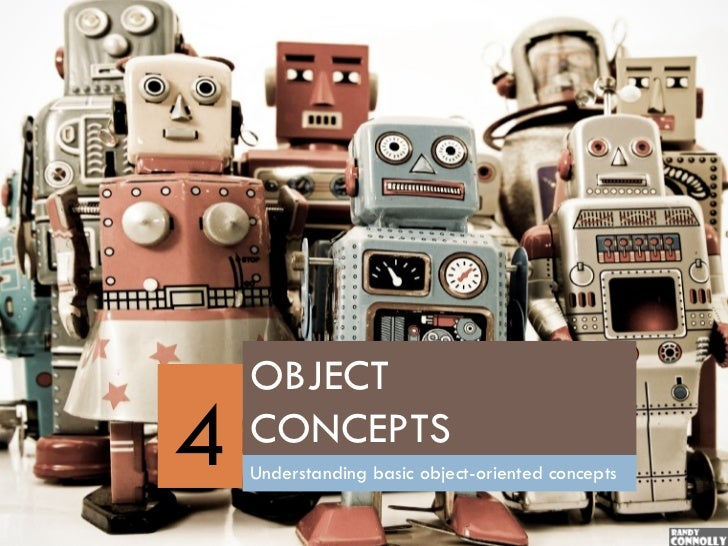 OBJECT4   CONCEPTS    Understanding basic object-oriented concepts
