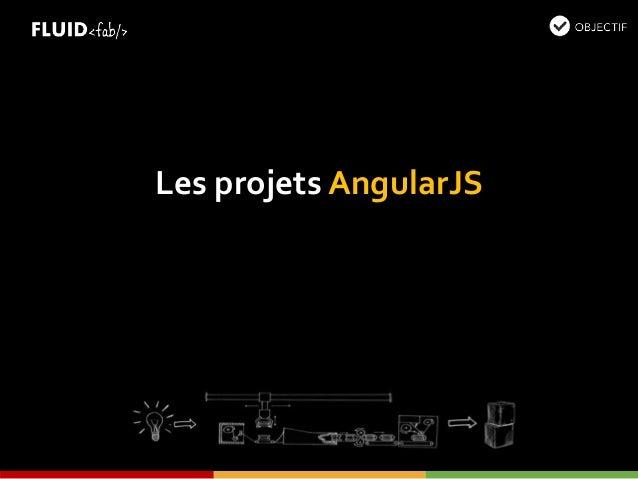 Les projets AngularJS