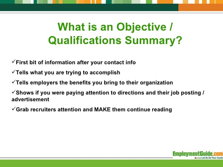 What Is Objective On A Resume,Objectives, what is an objective ...