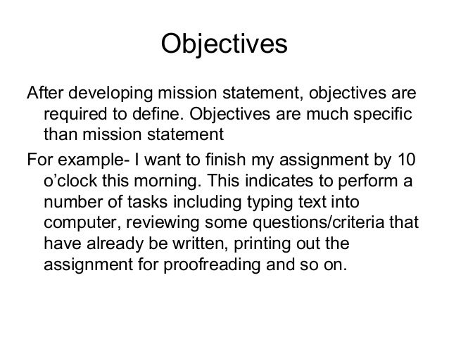 what are some of your life goals and objectives essays