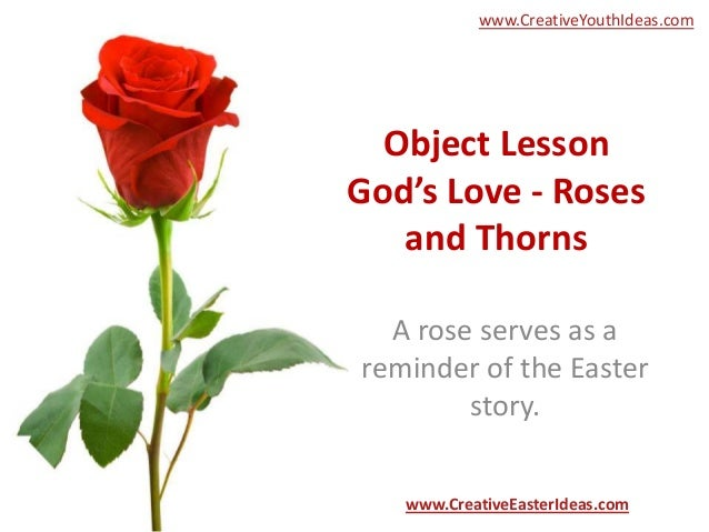 love of god lesson: