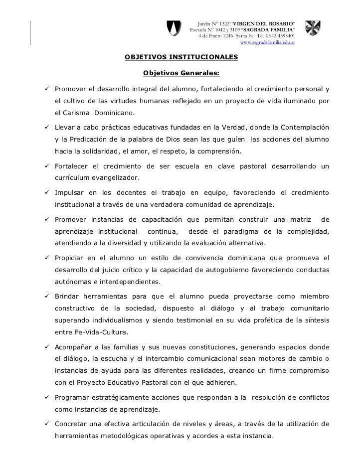 """Jardín N° 1322 """"VIRGEN DEL ROSARIO""""                                             Escuela N° 1042 y 3109 """"SAGRADA FAMILIA""""  ..."""