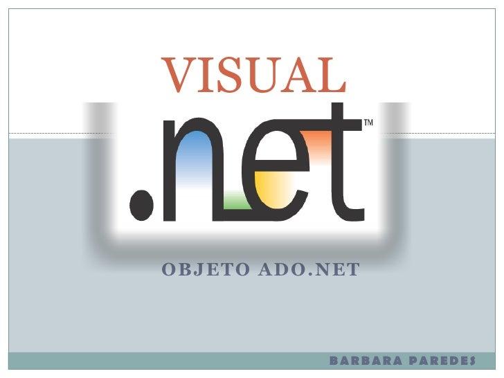 Objeto ado.net