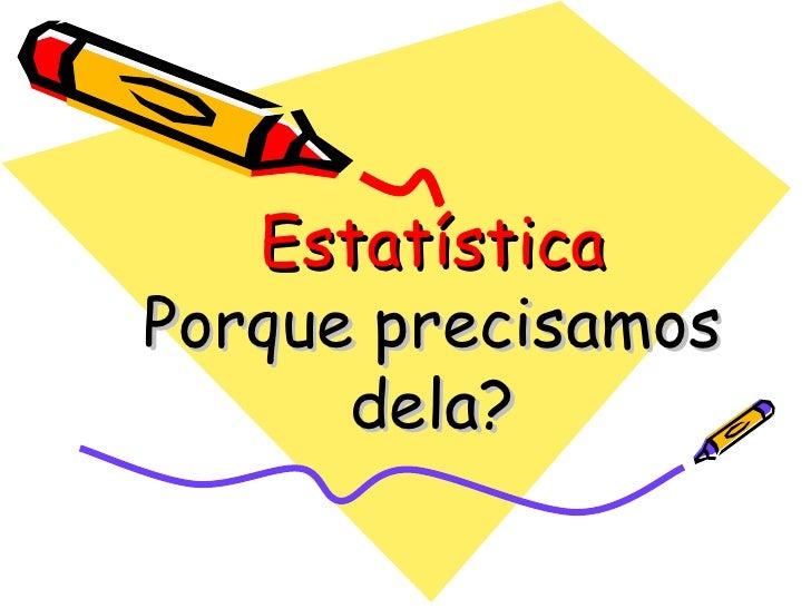 Objeto De Aprendizagem Sobre Estatistica