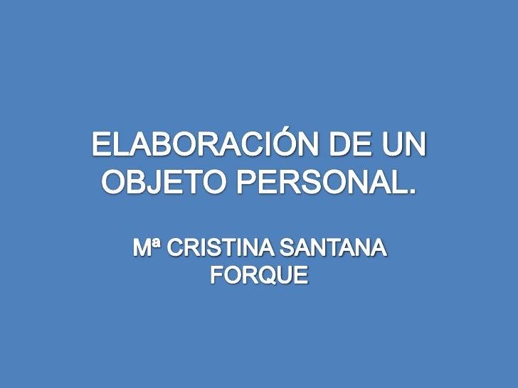Objeto Personal 2