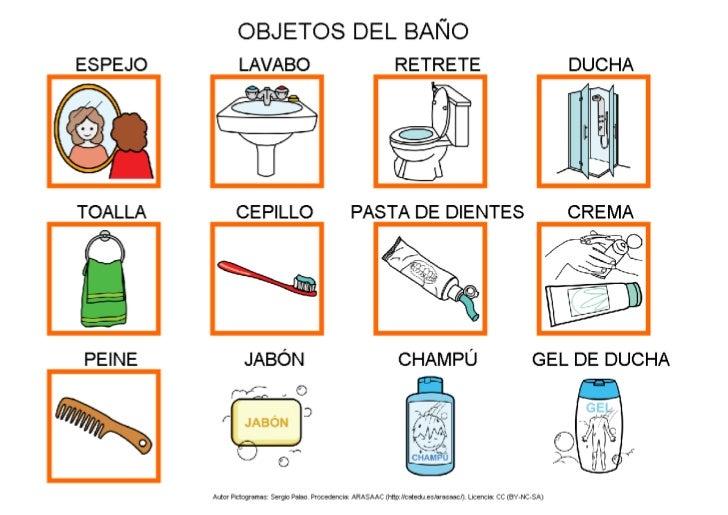 Imagenes De Objetos Del Baño:Partes Del Bano En Ingles