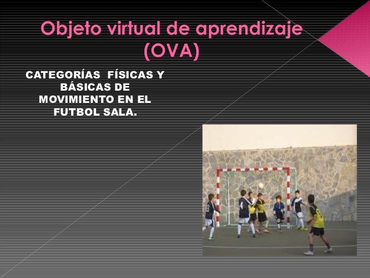 <ul><li>CATEGORÍAS  FÍSICAS Y BÁSICAS DE MOVIMIENTO EN EL FUTBOL SALA. </li></ul>