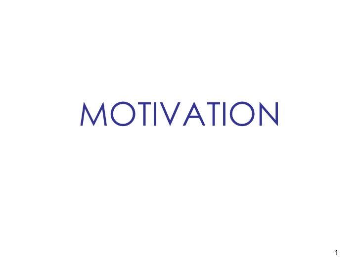 Oblecture5 motivation