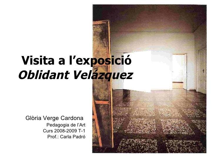 Oblidant Velàzquez