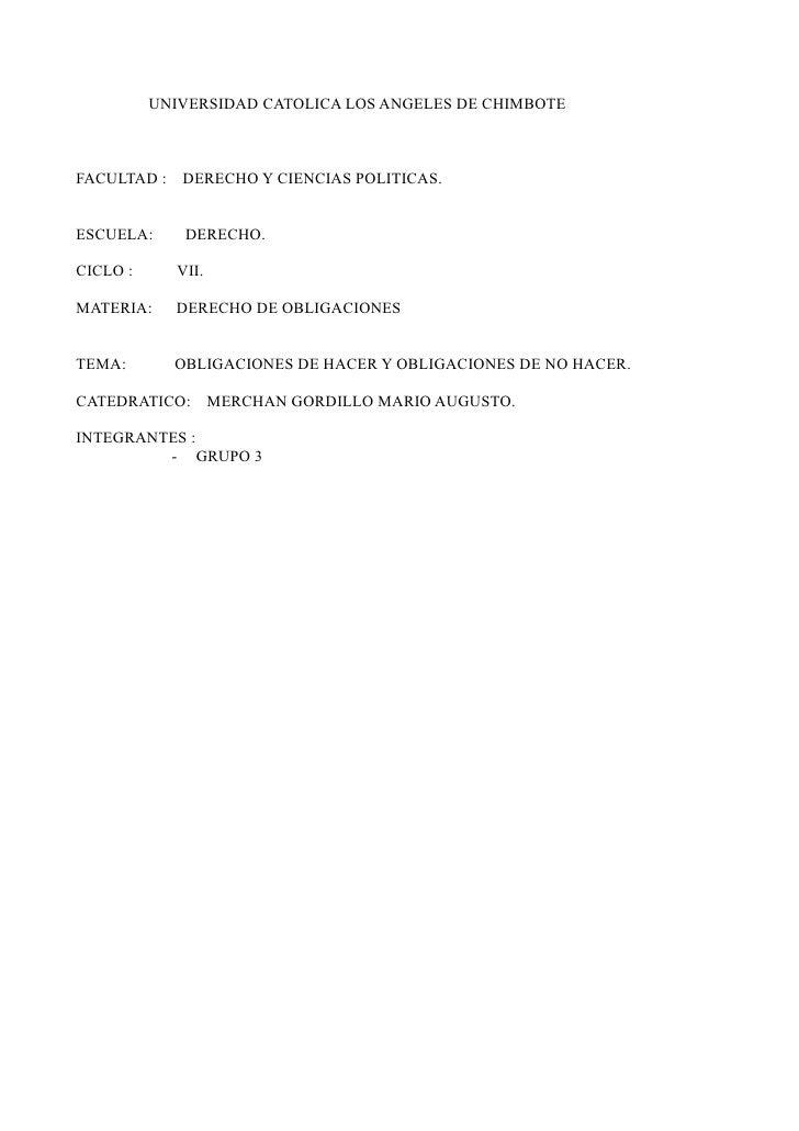 UNIVERSIDAD CATOLICA LOS ANGELES DE CHIMBOTEFACULTAD : DERECHO Y CIENCIAS POLITICAS.ESCUELA:     DERECHO.CICLO :     VII.M...