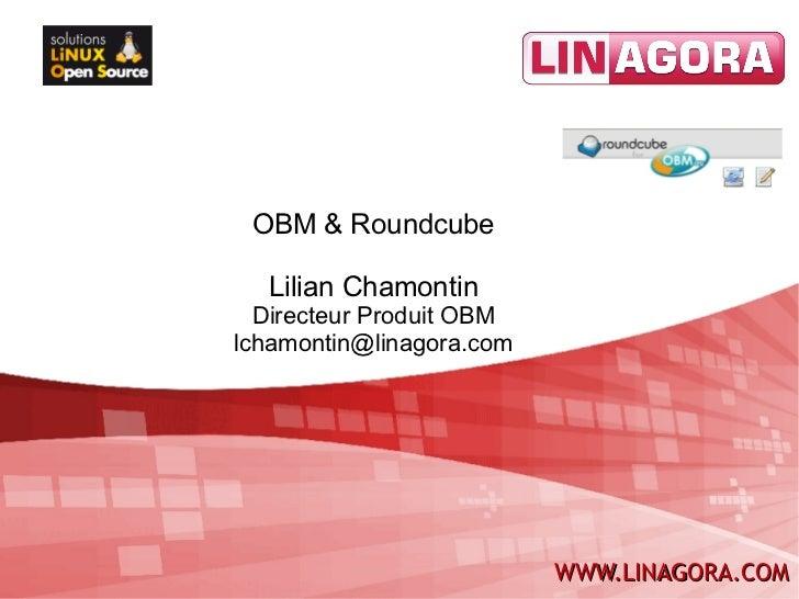 OBM + Roundcube, intégration réussie