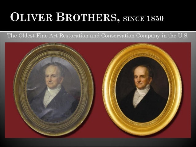 The Oldest Fine Art Restoration and Conservation Company in the U.S.