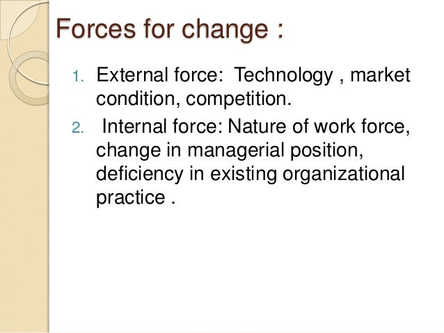 three internal forces of change for synergetic solutions Prepare a 500 word internal report concerning the change that is occurring at synergetic solutions write an analysis of the issues involved in this simulation in the analysis, include the following: describe at least three internal and external forces of change for synergetic solutions.