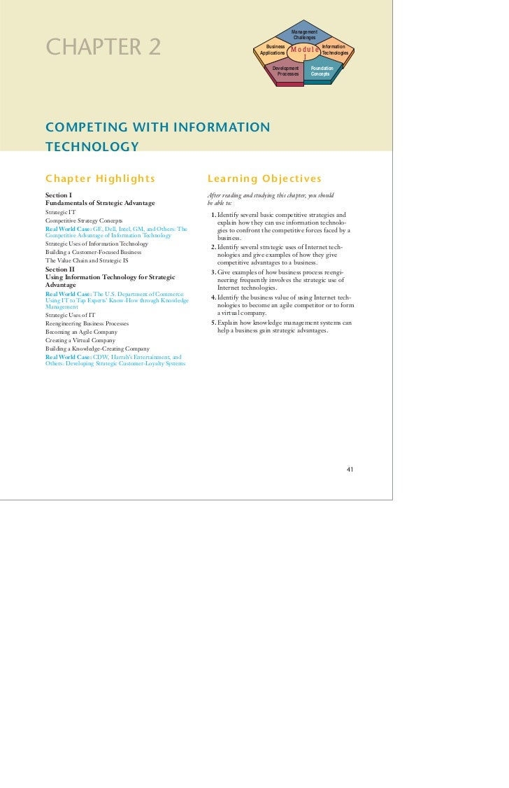 Lectura Capitulo 2. Sistemas de Información Gerencial, James O´Brien