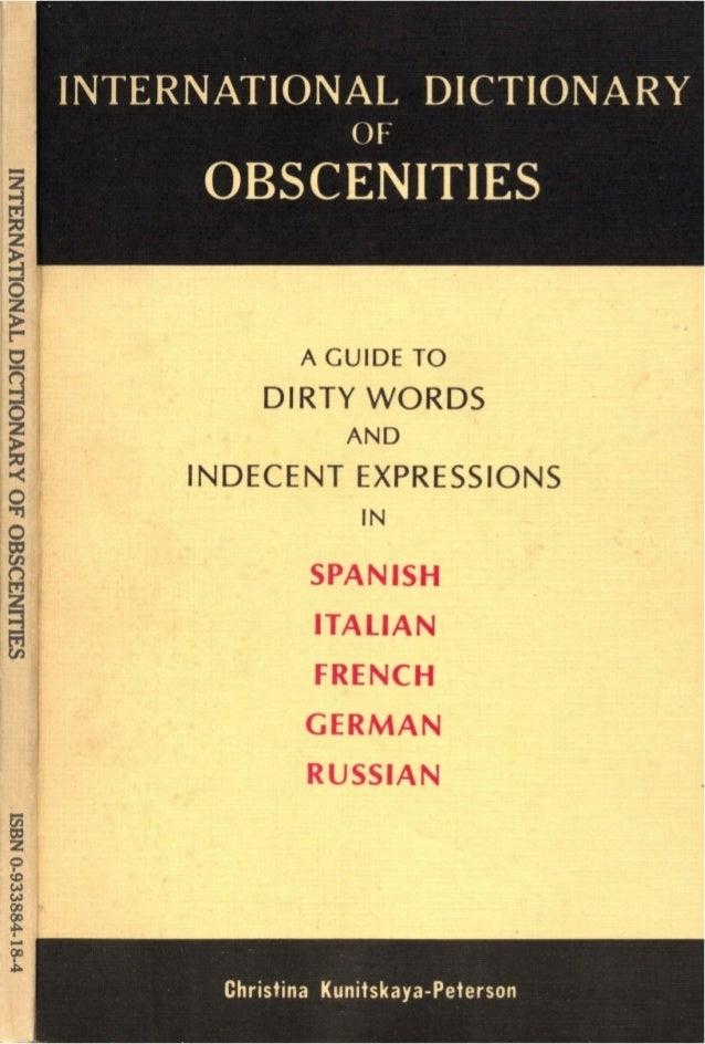 Obscenities