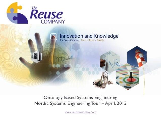 OBSE - Ontology Based System Engineering