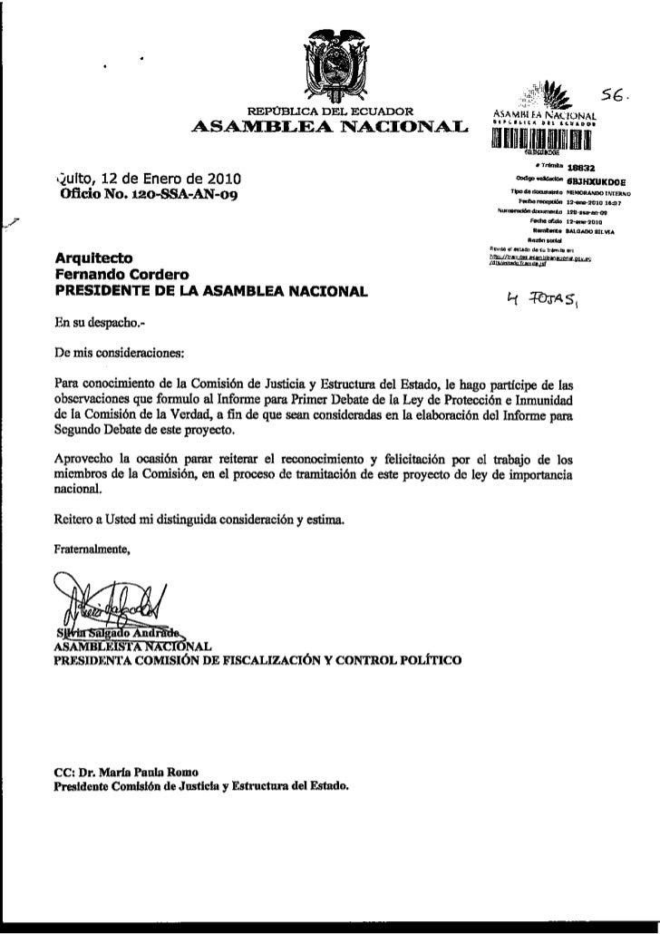 OBSERVACIONES LEY PROTECCION E INMUNIDAD COMISION DE LA VERDAD