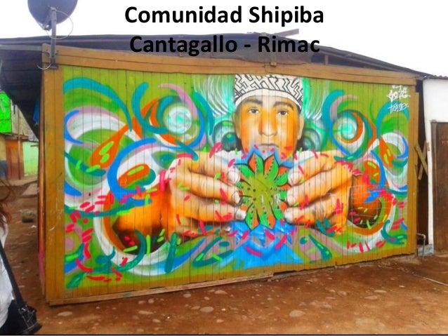 Observacion etnografica comunidad shipiba de cantagallo