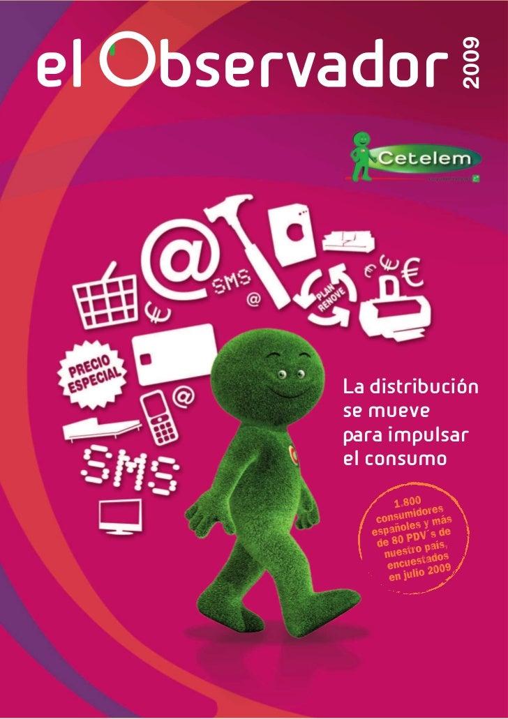Cetelem Observador 2009 Distribución