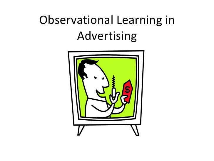 Observational Learning in Advertising