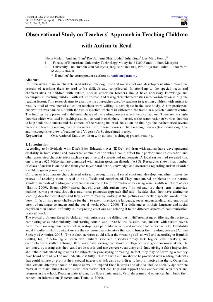 Journal of Education and Practice                                                                          www.iiste.orgIS...