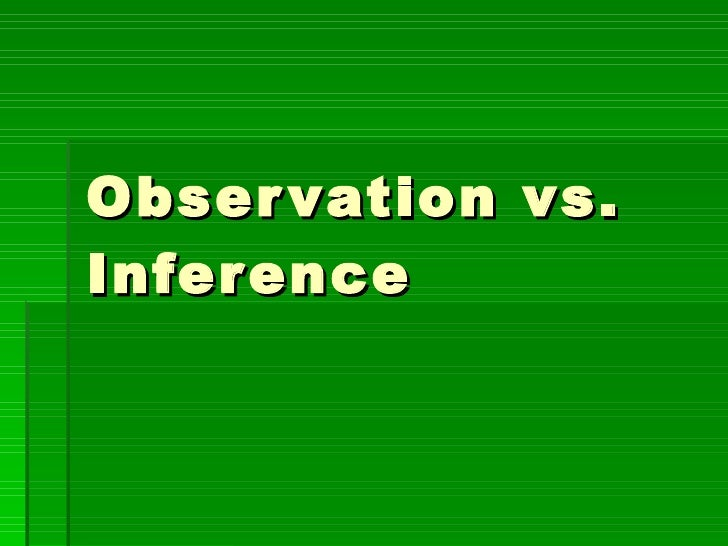 ... observation and inference along with observation inference worksheet