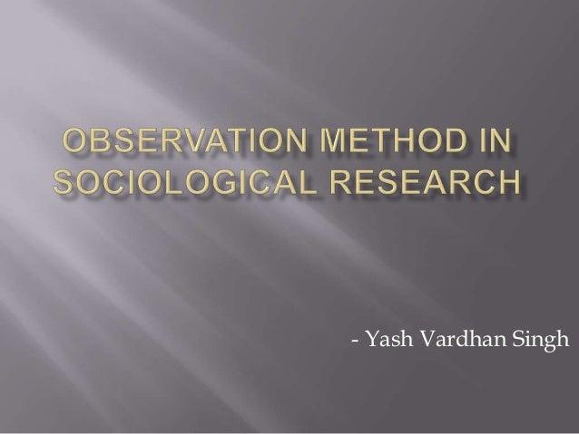 - Yash Vardhan Singh