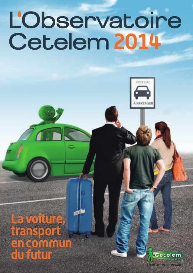 2014  La voiture, transport en commun du futur