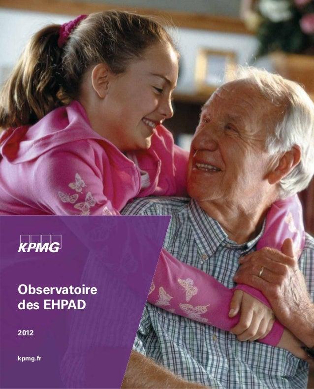 Observatoire ephad-2012
