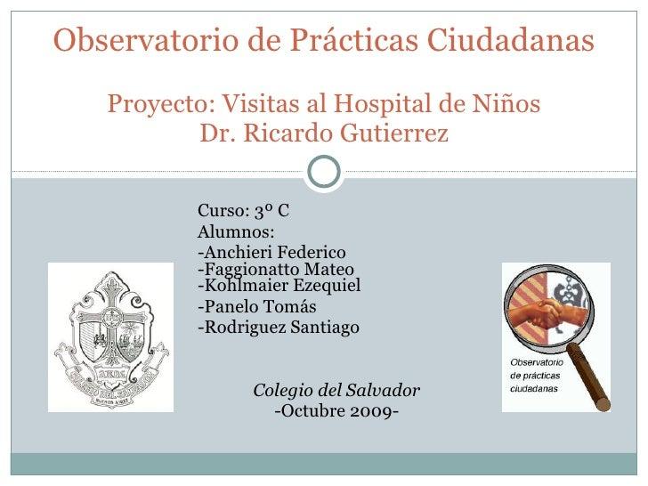 Observatorio Ciudadanía - Visitas HN