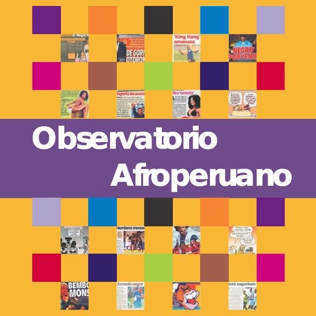 Observatorio afroperuano I