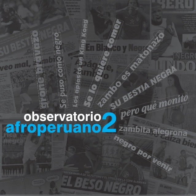 Observatorio afroperuanos II