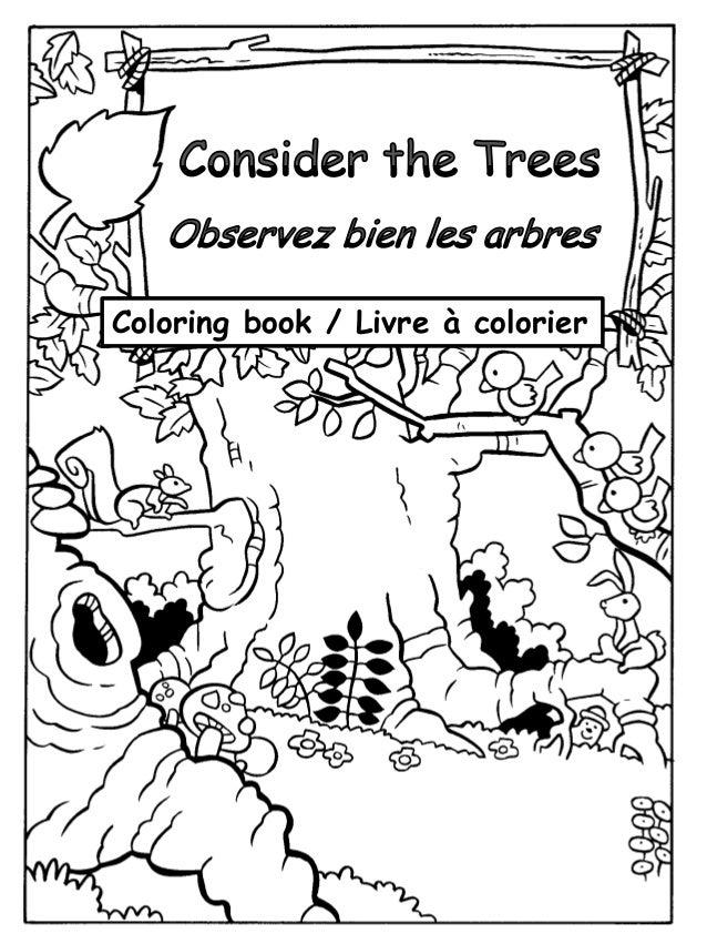 Coloring book / Livre à colorier
