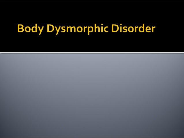 body dispmorphic essay