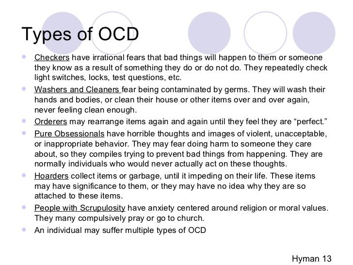 childhood ocd case study