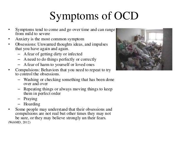 symptoms adult ocd