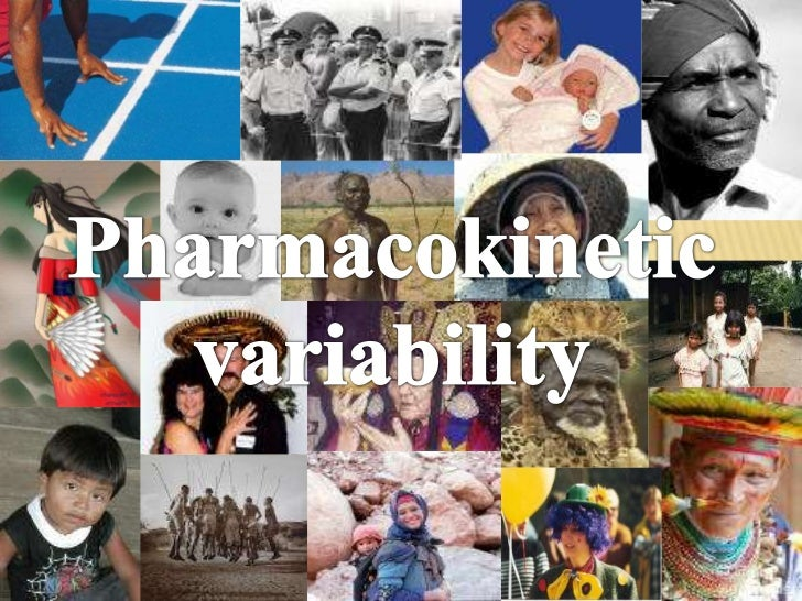 Pharmacokinetic variability<br />