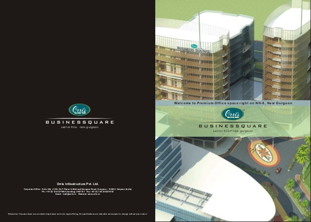 Welcome to Premium Office space right on NH-8, New Gurgaon                                                            sect...