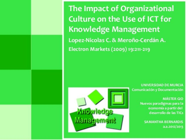 the impact of ict on records management The impact of information and communication technology (ict) on the management practices of malaysian smart schools international journal of educational development, 24 (2), 201–211 school effectiveness and improvement, hong kong, january 4-8.