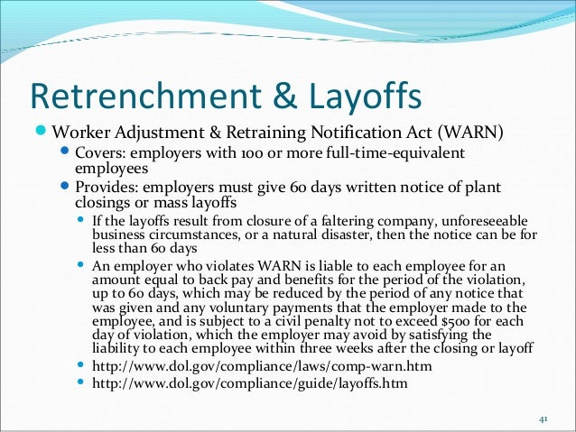 effectively retrenching laid off workers into organizations Nonprofit groups laid off employees, shifted investments, and added governance steps in 2009 by grant williams the vast majority of nonprofit organizations that responded to a recent accounting survey said they coped with the bad economy in 2009 with all-around cost cutting.