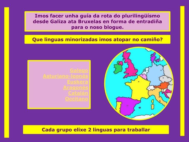 O CamiñO Das Linguas1
