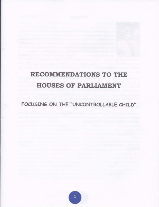"""Focusing on the """"Uncontrollable"""" Child - Office of the Children's Advcate Jamaica"""