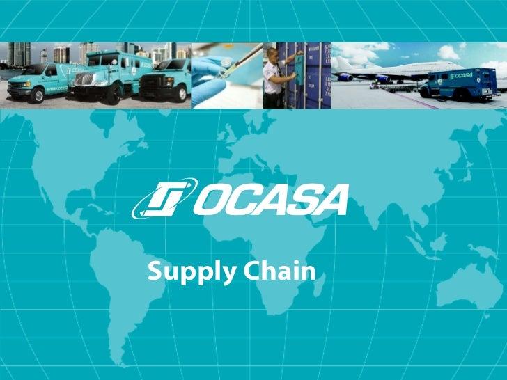 Ocasa Logistics Full Service Supply Chain