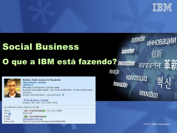 O case IBM Painel RioInfo 2011