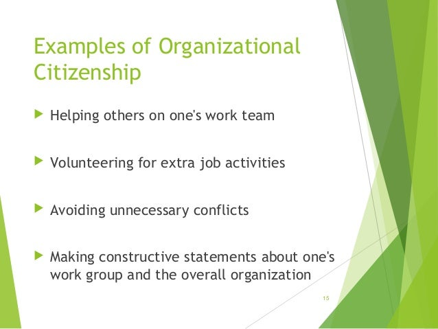 organizational behaviour examples In organizational behavior, one example would be to measure productivity in an entity with a flat organizational structure, as opposed to an organization with a layered hierarchy.