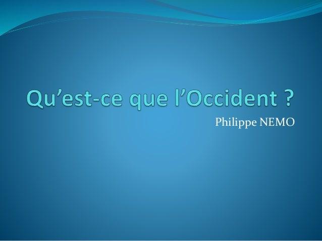 Philippe NEMO