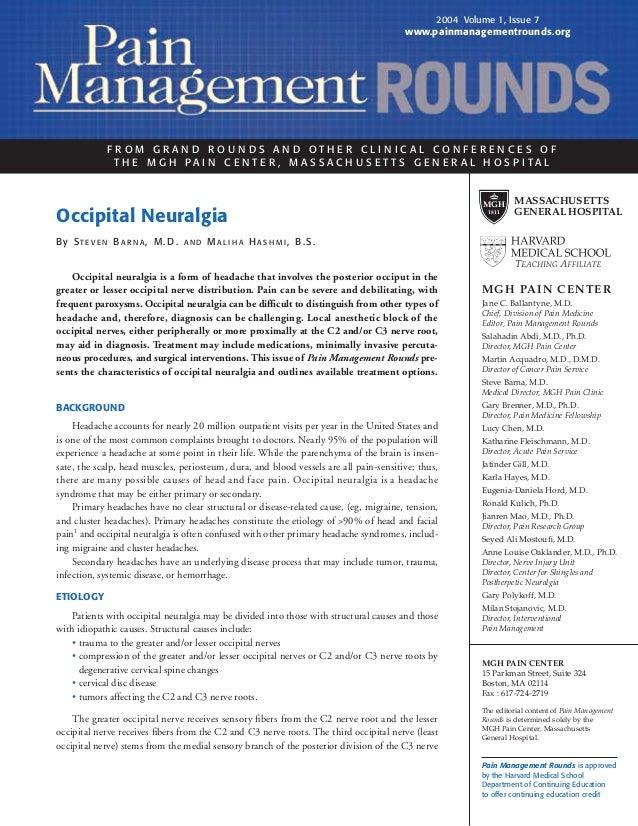 Occipitalneuralgia