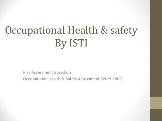 Occupational health & safety by (ISTI)